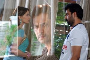 JD Chakravarthy Minissha Lamba @ Contract Telugu Movie Stills