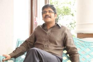 Telugu Actor Nagarjuna Pictures @ Bhai Movie Interview
