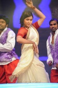 Barbie Chopra Saree Hot Stills @ Prema Geema Jantha Nai Audio Release