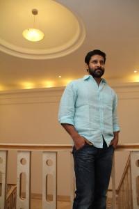 Actor Vikram @ Pachai Puratchi Pressmeet Images