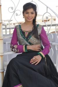 Actress Sanchita Shetty Latest Images in Villa Press Meet