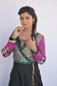 Sanchita Shetty Latest Images in Villa Press Meet