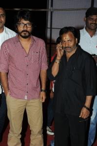 Vishnuvardhan, AM Rathnam @ Aata Arambam Movie Audio Launch Stills