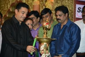 Kamal Hassan @ 9th Chennaiyil Thiruvaiyaru 2013 Inauguration Photos