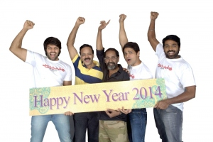 Poramboku Team New Year 2014 Wishes Photos