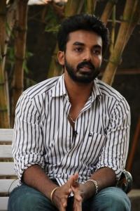 Actor Maruthi @ Marumunai Movie Press Meet Stills