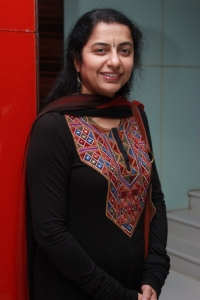 Suhasini @ Malini 22 Palayamkottai Movie Premiere Show Stills