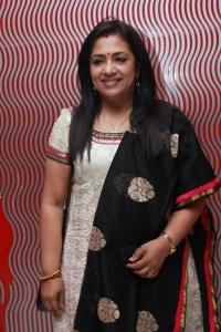 Poornima Bhagyaraj @ Malini 22 Palayamkottai Movie Premiere Show Stills