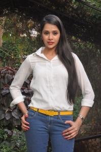 Telugu Actress Kritika Singhal Stills at Silk India Expo