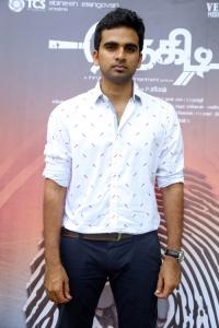 Ashok Selvan @ Thegidi Movie Press Meet Stills