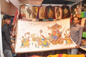 Akshaya & Vinny Launches Silk India Expo 2014 Exhibition, Hyderabad