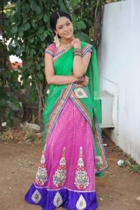Telugu Actress Anjali Rao Stills @ Alochinchadi Movie Opening