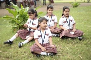 Adhiti, Aakrithi, Akshathy, Aapthi in Enna Satham Intha Neram Movie Stills
