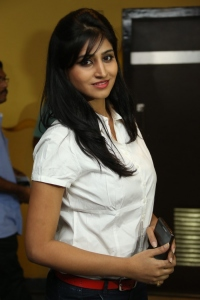 Shamili @ Romeo Movie Premiere Show at Prasads Multiplex Hyderabad