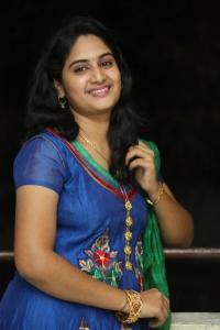 Actress Krishnaveni @ Malli Raadoy Life Movie Success Meet Stills