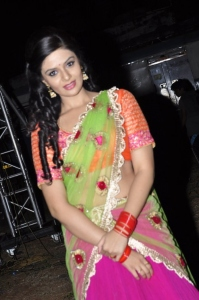 Actress Sree Mukhi @ Krishnamma Kalipindi Iddarini Audio Launch Stills