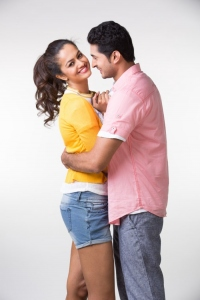 Aravind Krishna & Shubra Aiyappa in Yavvanam Oka Fantasy Movie Photos
