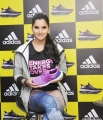 Sania Mirza unveiled 'Ultra Boost' running shoe at Adidas