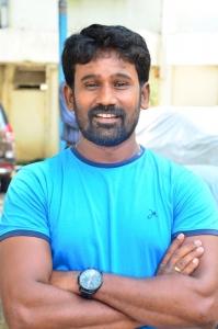 Tamil Director Muthaiah @ Komban Movie Press Show Stills