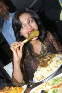 Asha Shaini at Arabian Food Festival 2011 Gazebo Restaurant