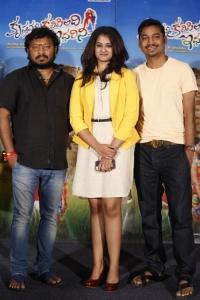 Nanditha, Sridhar Lagadapati @ Krishnamma Kalipindi Iddarini Movie Press Meet Stills
