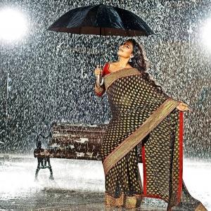 Actress Samantha in Saree Photoshoot Gallery
