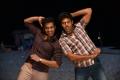 Santhanam, Arya in Vasuvum Saravananum Onna Padichavanga (VSOP) Movie Pictures