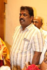 Producer S Nandagopal @ Veera Shivaji Movie Pooja Stills