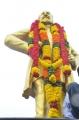 Sivaji Statue in RK Salai-Kamarajar Salai junction near the Marina Beach, Chennai