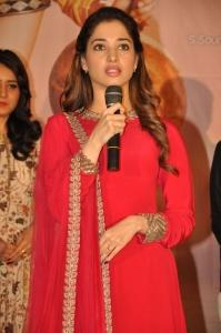 Actress Tamannaah @ Bengal Tiger Video Songs Launch Stills