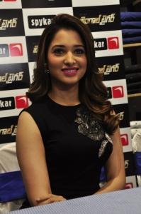 Actress Tamanna @ Bengal Tiger Movie Team at Spykar Store Photos