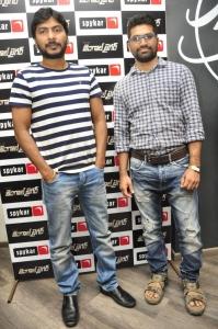 Director Sampath Nandi @ Bengal Tiger Movie Team at Spykar Store Photos