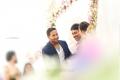 Vishnu Manchu @ Varun Sandesh engagement with Vithika Sheru Photos
