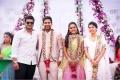 Manchu Manoj Kumar @ Varun Sandesh engagement with Vithika Sheru Photos
