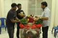 Chiranjeevi paid homage to Satyamurthy (Music Director DSP Father)
