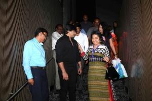 Prashanth, Suhasini @ Saahasam Movie Preview Show Stills