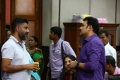 Director I. Ahmed @ Manithan Movie Working Stills