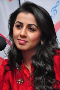 Krishnashtami Movie Actress Nikki Galrani at 91.1 FM Radio City