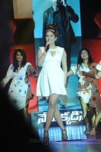 Neha Bhasin @ 1 Nenokkadine Movie Audio Release Function Stills