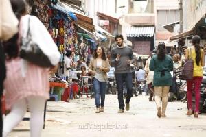 Nithya Menon, Dulquar Salman in 100 Days of Love Movie New Photos