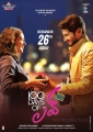 Dulquar Salman & Nithya Menon in 100 Days of Love Movie Release Posters