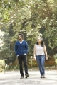 Dulquer Salmaan & Nithya Menon in 100 Days of Love Telugu Movie Stills
