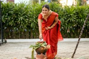 Shalini Pandey  @ 100 Percent Kadhal Team Pongal Celebration Photos