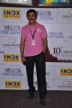 Actor Mohan at 10th CIFF Day 2 Red Carpet at INOX Photos