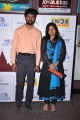 Madhan Karky with wife Nandhini at 10th CIFF Day 2 Red Carpet at INOX Photos