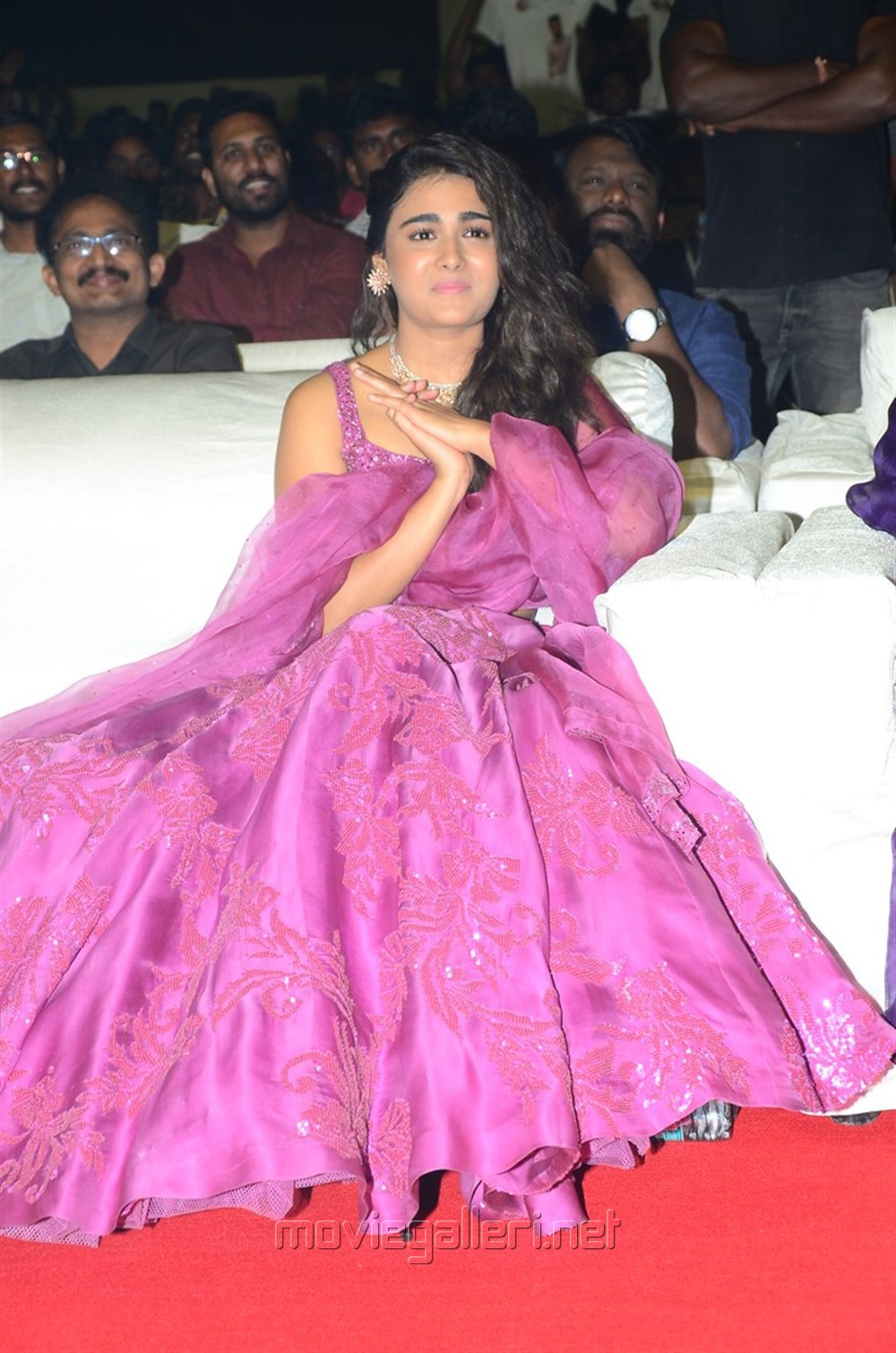 Actress Shalini Pandey @ 118 Movie Pre Release Function Stills