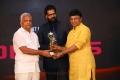 K Bhagyaraj got Best Character Role Male Award for Thupparivaalan Movie @ 11th Annual Edison Awards 2018 Stills