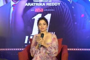 Actress Tamannaah @ 11th Hour Web Series Press Meet Stills