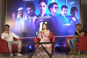 Anirudh Balaji, Tamanna, Adith Arun @ 11th Hour Web Series Press Meet Stills