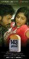 Jagan, Lakshmi Nair in 143 Hyderabad Movie Posters